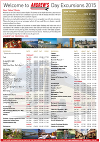 Download the Andrews Coaches Daytrip Brochure